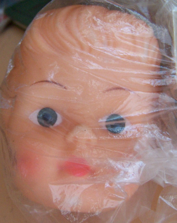 plastic doll head by mangelsens