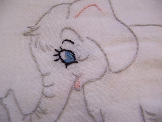 baby elephant towel