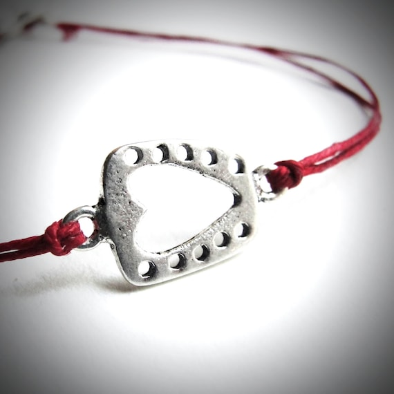 Mothers Day Bracelet Heart bracelet Love anniversary ...