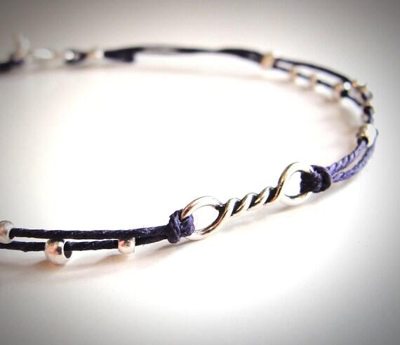 Tiny Twist Sterling bracelet friendship bracelet