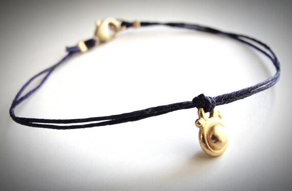 NEW - Gold Vermeil Drop bracelet