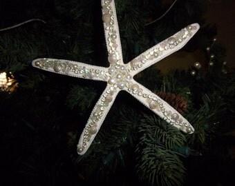 Beach Decor- Large Pencil Star fish Ornament