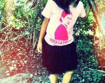 viva la frida girl shirt