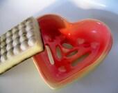 ONE LOVE Ceramic Heart Dish