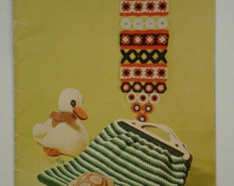 Toys And Novelties Beehive Patons 141 Knit and Crochet Patterns for Scottie Dog, Panda, Duck, Tortoise, and more