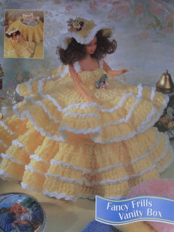 Fancy Frills Vanity Box Crochet Pattern Looks By