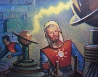 1951 Sci-Fi Trading Cards -  JETS, ROCKETS, SPACEMEN (1985) - Full Set - Stocking Stuffer