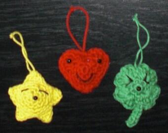 ORNAMENT SET --- Amigurumi Crochet Pattern PDF
