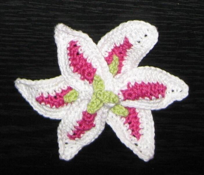 STARGAZER LILY Amigurumi Crochet Pattern PDF