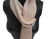 "Handwoven scarf ""Million Dollar Baby"""