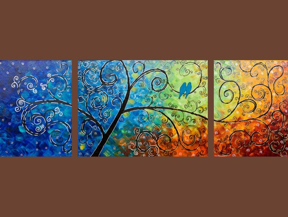 """Custom Painting for  Bina """"Tree of Life"""" by QIQIGALLY"""