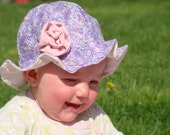 Ruffled Baby Sun Hat Pattern