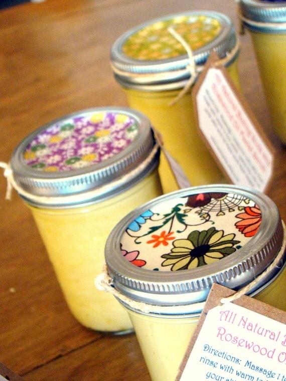 Eco-friendly Baking Soda facial scrub with Lavender oil 8oz