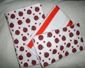 Gift Pack - Ladybug Luv Baby Girl Swaddling Pack