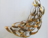 60s Mid Century MODERN Abstract Brutal Metal SCULPTURE By Bijan Jere era