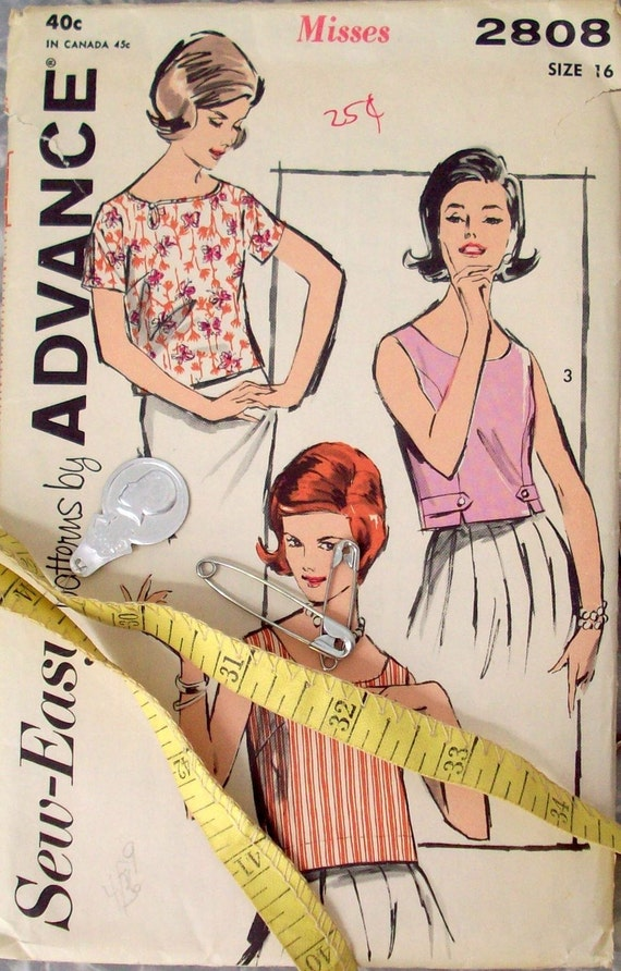 Sewing Pattern For Ladies Blouse 2