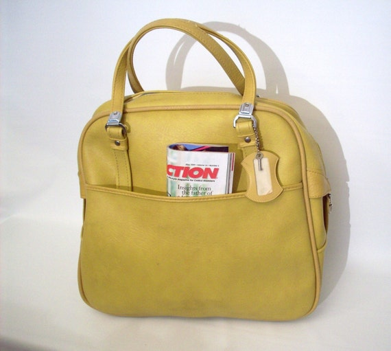 Mustard Yellow Carry On By American