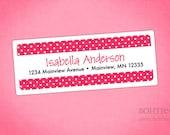 Return Address Labels - Polka Dotty