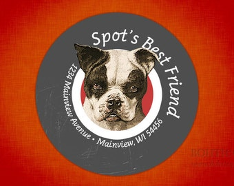 Spot's Best Friend Address Labels