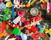 Grab Bag of charms, trinkets, nic-nacs, doodads, beads (50)
