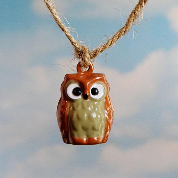 Hoot Owl Jingle Bell (qty 4)