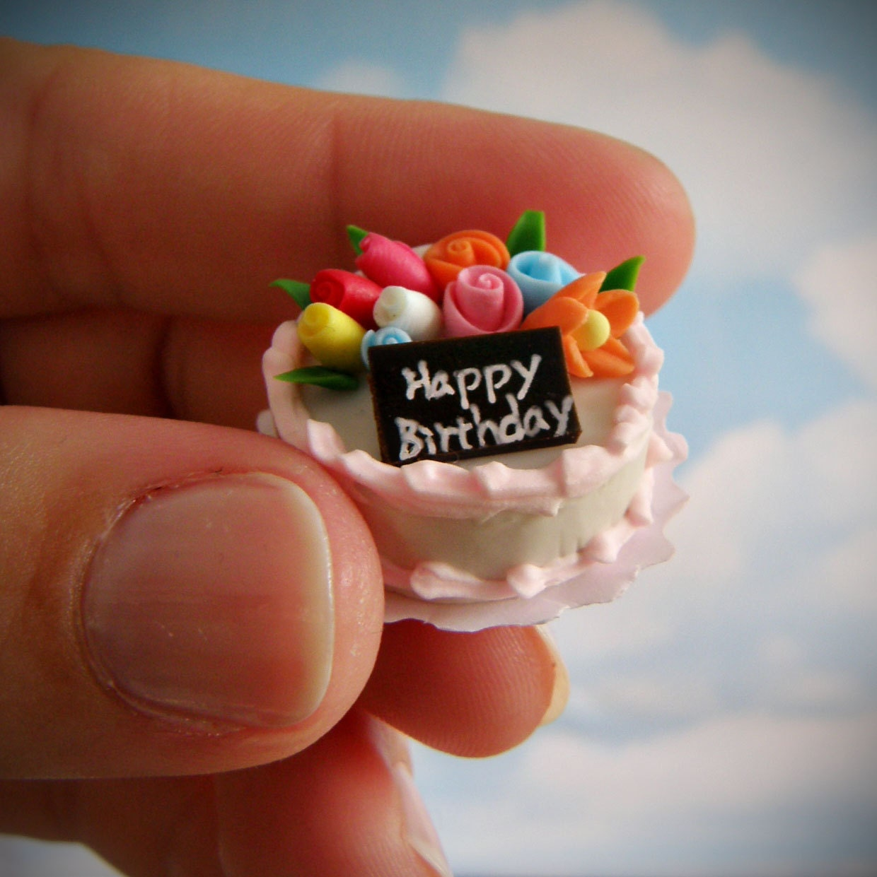 Small Images Of Birthday Cake : Miniature Birthday Cake