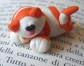 Cute Kitty Cat (Micio Miao) - A Little Polymer Clay Creation - N.12