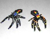 Beaded Rainbow Spiders