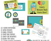 Ultimate Birthday Party Pack for 12 - U pick theme from our shop