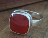RESERVED FOR UNICORN GEMS Carnelian ring