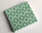 Small Coupon Organizer with 14 Pockets - Pre Printed Labels Included - Green sparkles on Green