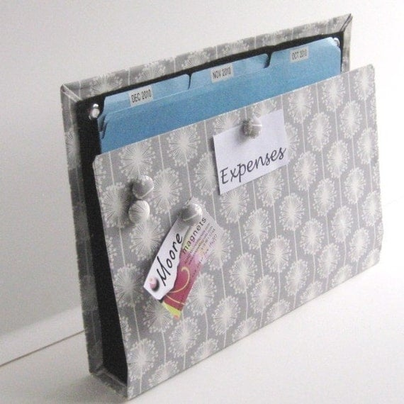 Large Wall Pocket, Magnet Board, File and Mail Holder