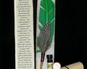 EARTH Elemental QUILL Dip Pen and Scented INK Set