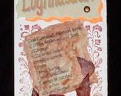 Lughnasadh Greeting Card Pagan, Celtic, Wiccan Holiday
