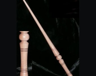 APPLE Handmade MAGIC WAND, Pagan, Wicca, Fairy, Wizard, Druid