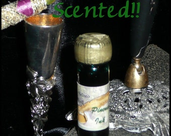 Pineneedle SCENTED Magic Green Writing and Dip Ink