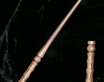 LOCUST Wood MAGIC WAND, Pagan, Wicca, Fairy, Wizard, Druid