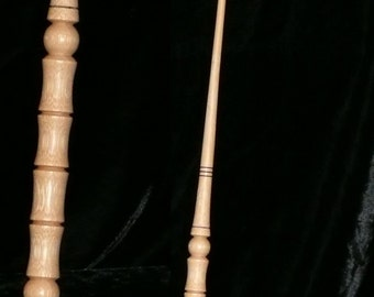BAMBOO Handmade Magic WAND, Pagan, Wicca, WIZARD, Fairy, Druid