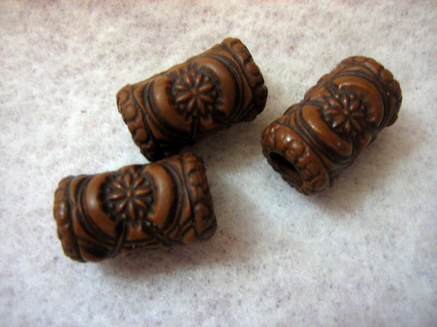 Dreadlock Beads Dread Beads Wood Look ...