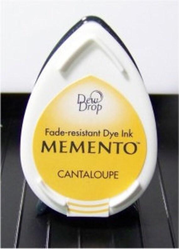New Tsukineko Dew Drop Memento Dye Ink- Cantaloupe