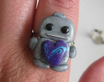 Robot Love Ring