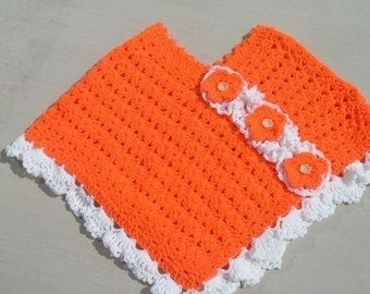 Orange Blossom CROCHET PONCHO PATTERN