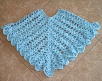 SHEER HEAVEN Crochet Poncho Pattern
