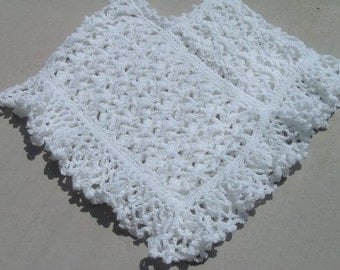 Snow White CROCHET PONCHO PATTERN