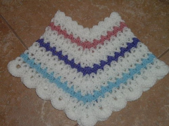 Playtime CROCHET PONCHO PATTERN