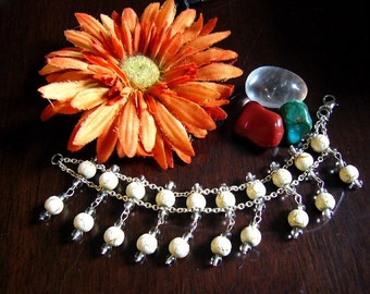 Vintage Inspired Beaded Bracelet