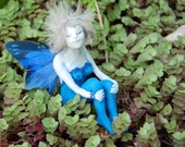 ooak Fae Fairy polymer clay sculpture