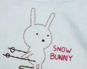 Snow Bunny Onesie