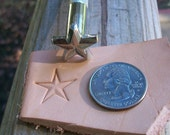 CLEARANCE Large Star Craftool Leather Stamp
