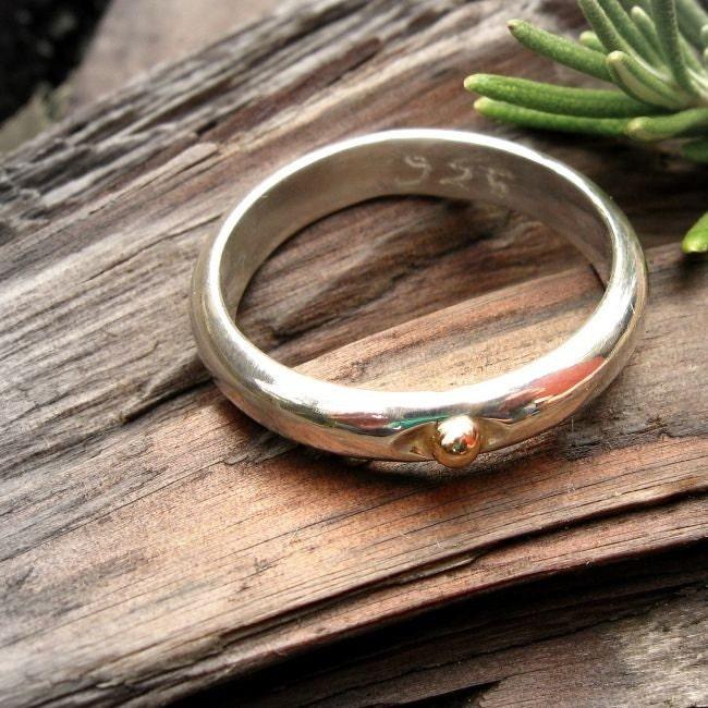 Gold Mustard Seed Ring